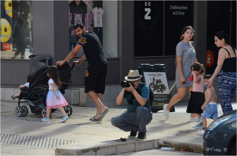 Le photographe de rue