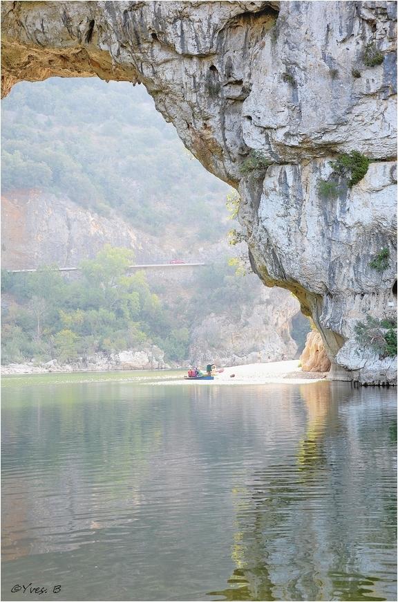 Le pont d'arc ( Ardèche )