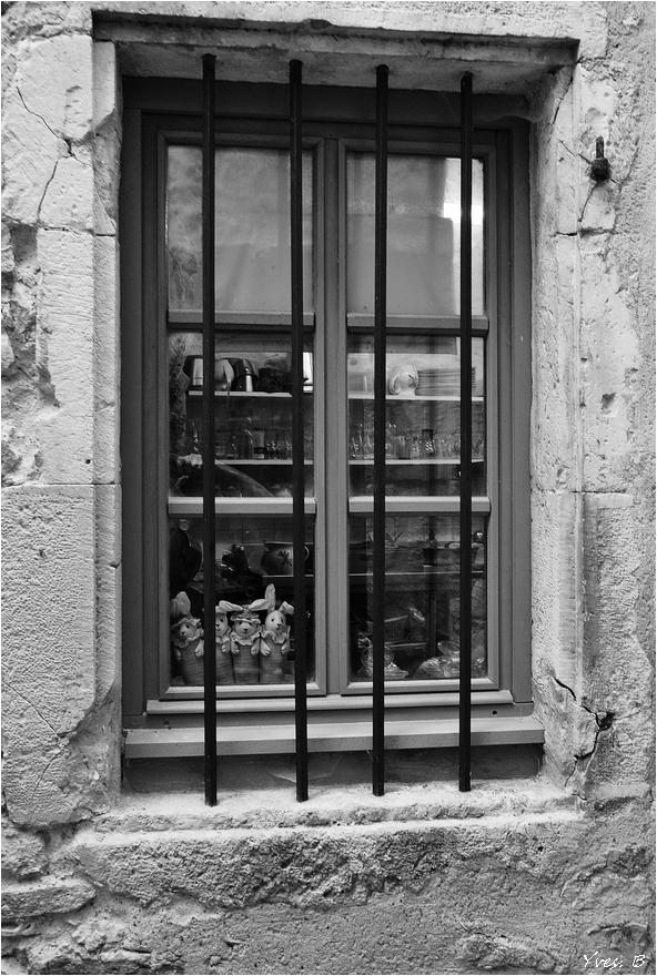 Au travers de la fenêtre