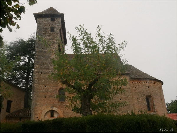 Martignac son église