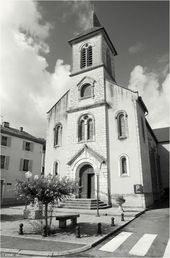 Vers et son église