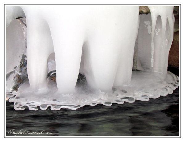 Dentelles de glace