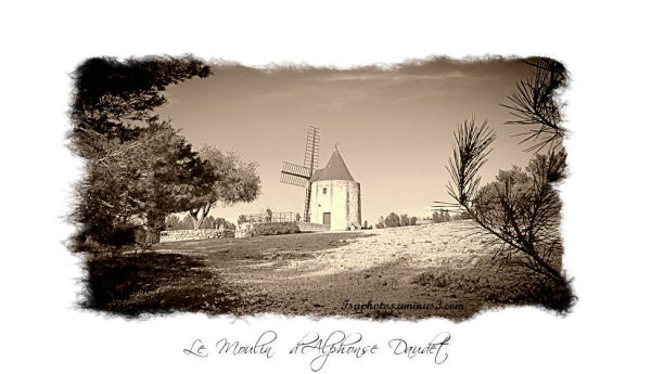 Le moulin de Daudet