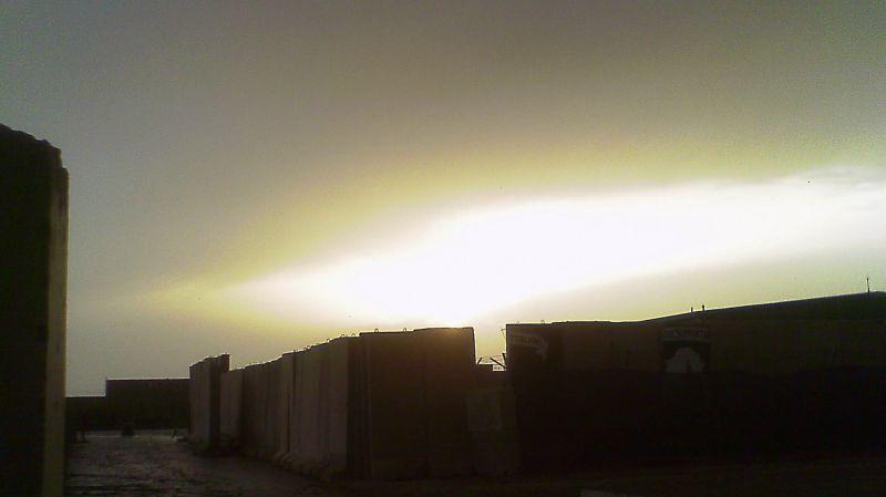 Sunset in Iraq