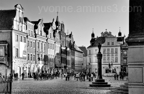 The old city in Poznan