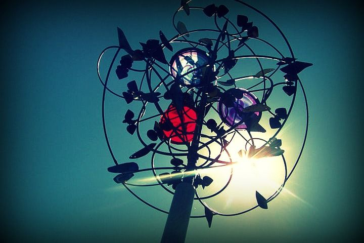 From the Benson sculpture park