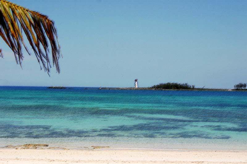 Lighthouse at Junkanoo Beach