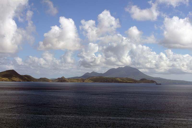 Mt. Brimstone in St. Kitts