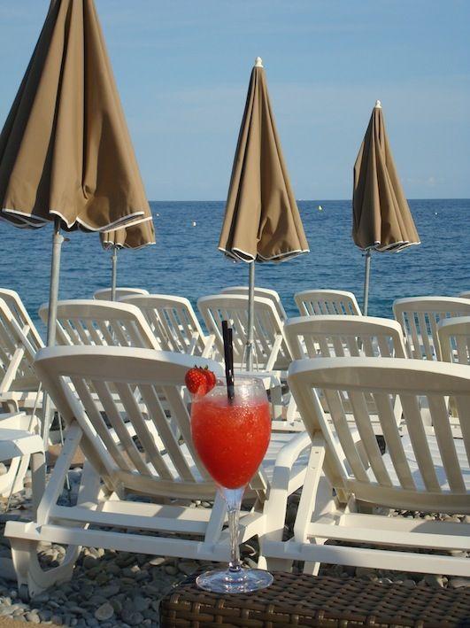 Relaxing in Nizza