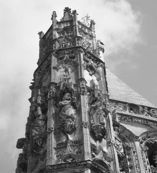 Normandie 1 - church of L'Aigle