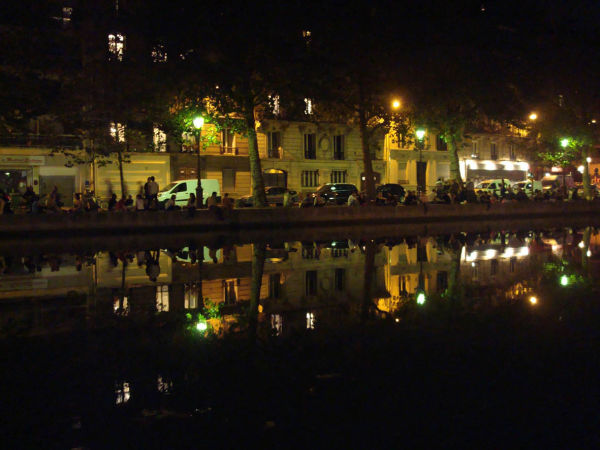 Canal St. Martin - Reflection