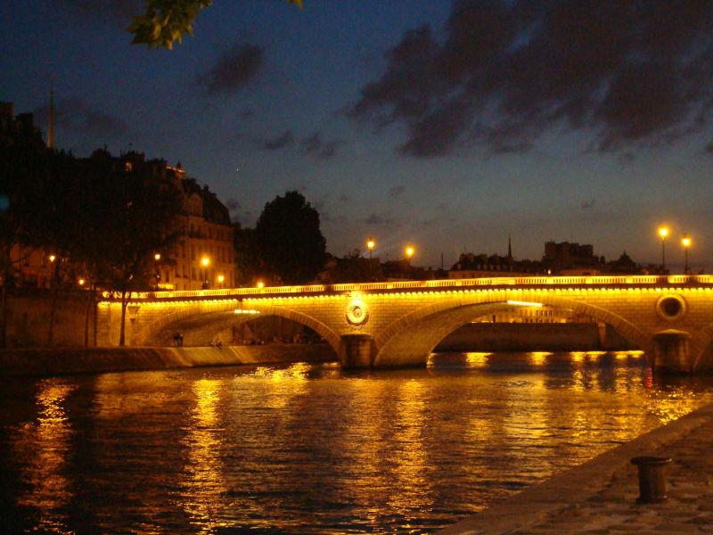 Une soirée à Paris