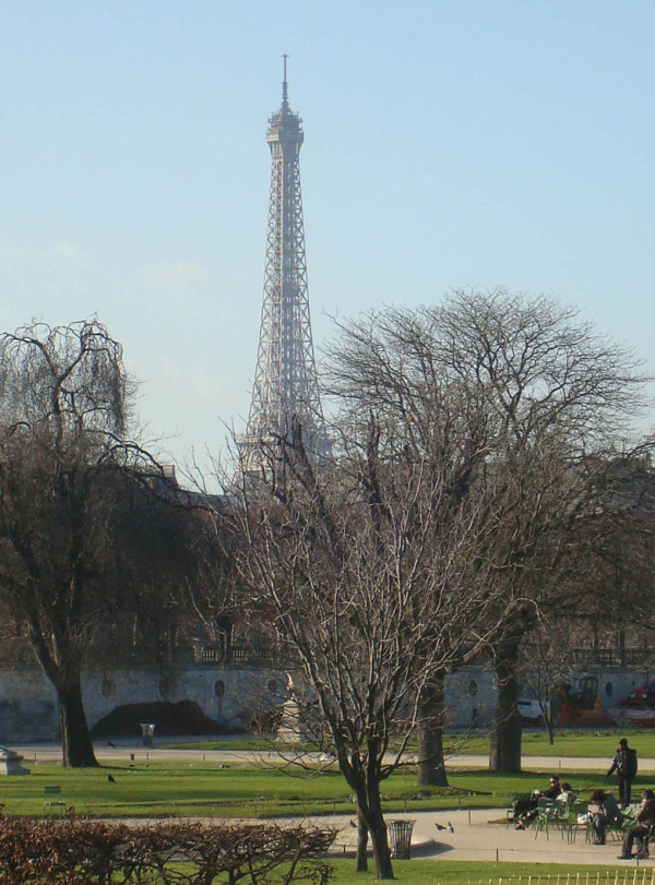 Sunny afternoon in Paris 3
