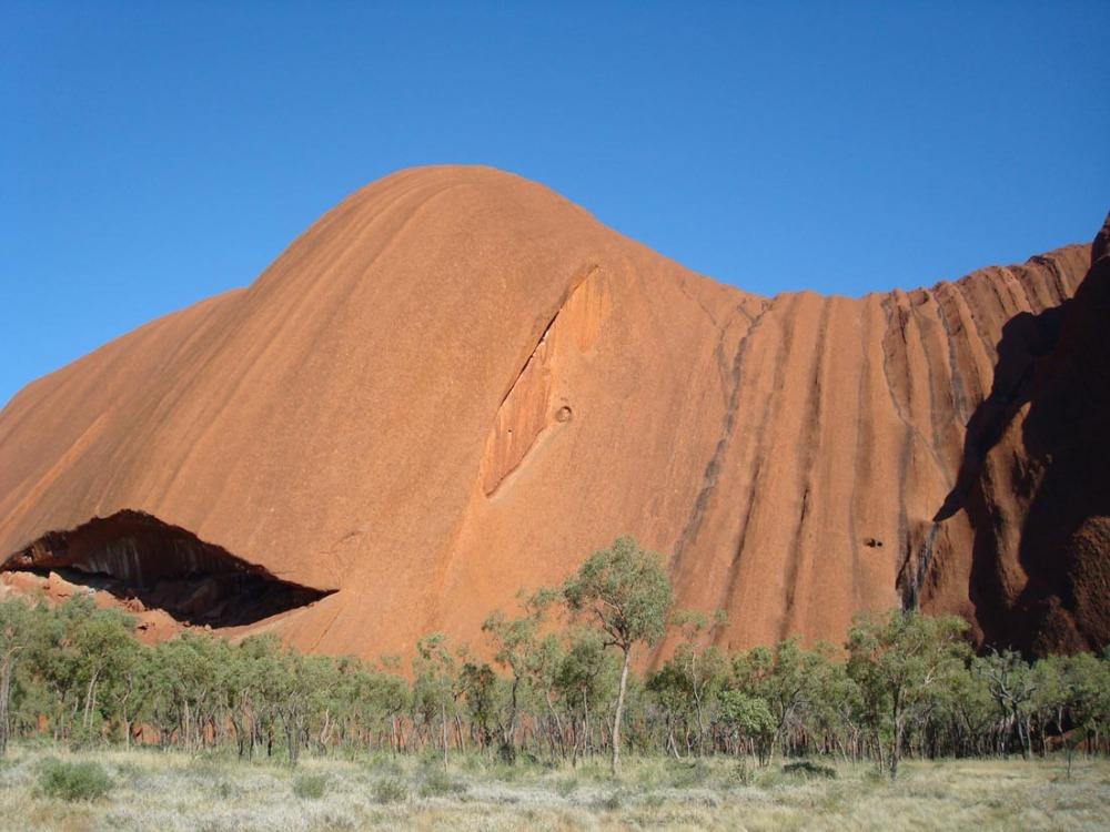 Uluru - 7/9 -  details of the walk around