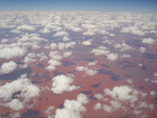 Outback from above