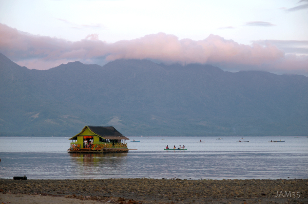 Sunset at Sogod Bay