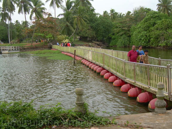 Floating Bridge, Veli Village, Thiruvananthapuram,