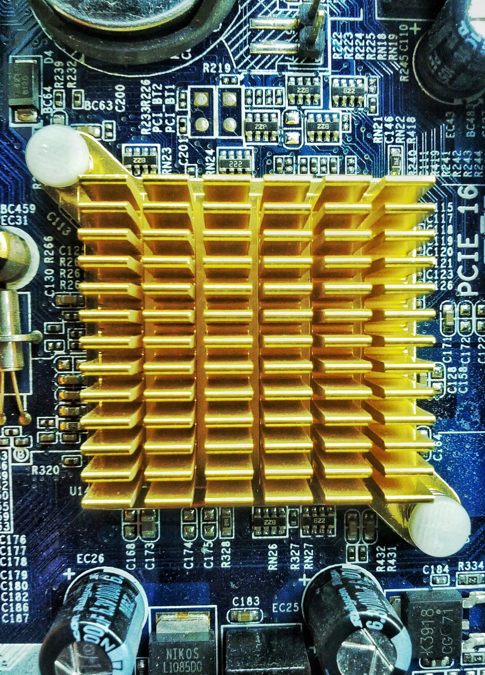 South Bridge Heat Sink