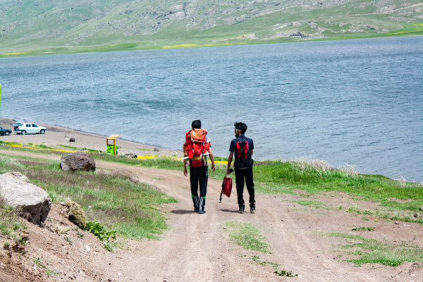 Day 1: Neor Lake, Walking to Camp Site