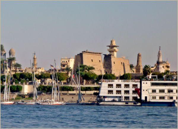 Luxor, Nile, Egypt, 2010