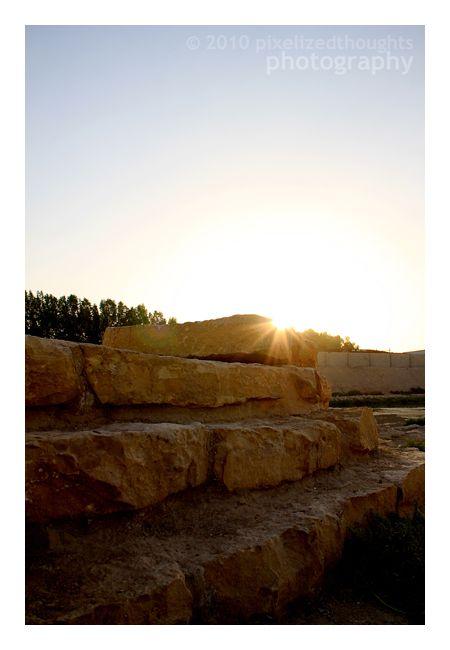 Sunrise at Wadi Hanifah