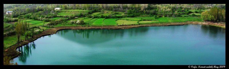 Avan Lake.Iran