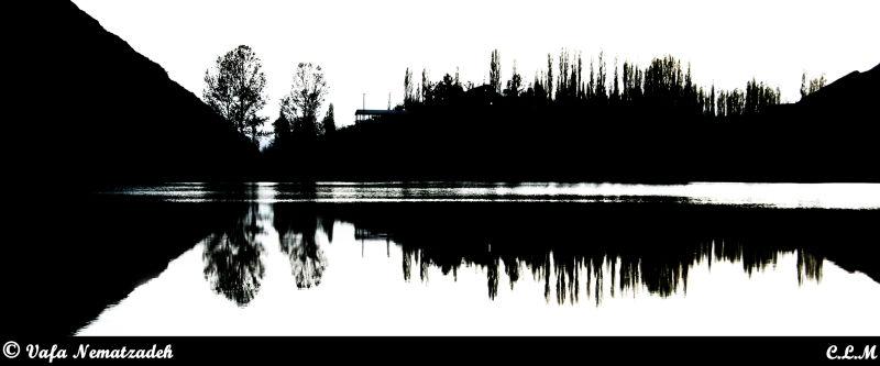 Avan Lake.Iran