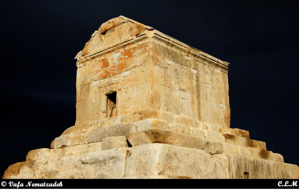 CYRUS TOMB.IRAN