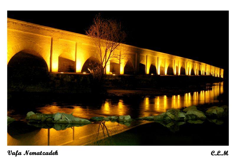 Marnan Bridge.Iran