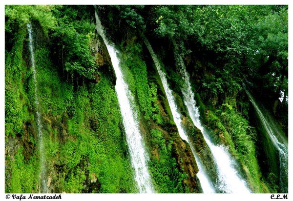 Bisheh Waterfall.Iran