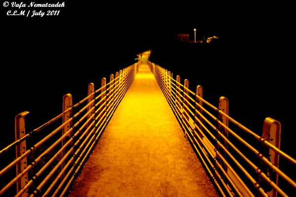 Bridge Made of Light.Iran