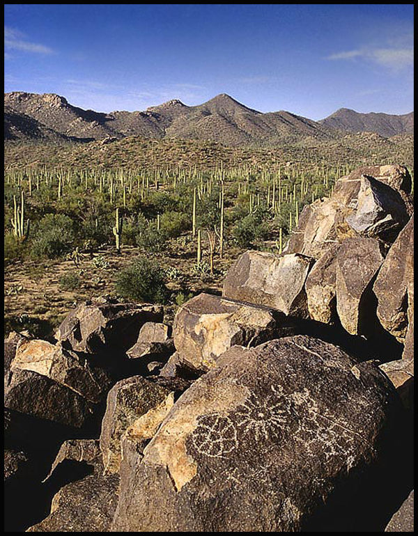Sonoran Desert petroglyphs