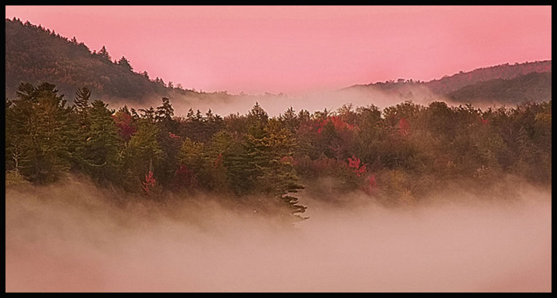 Fourth Lake fog
