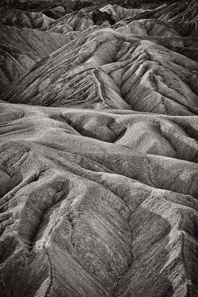 Zabriskie Point- Death Valley CA