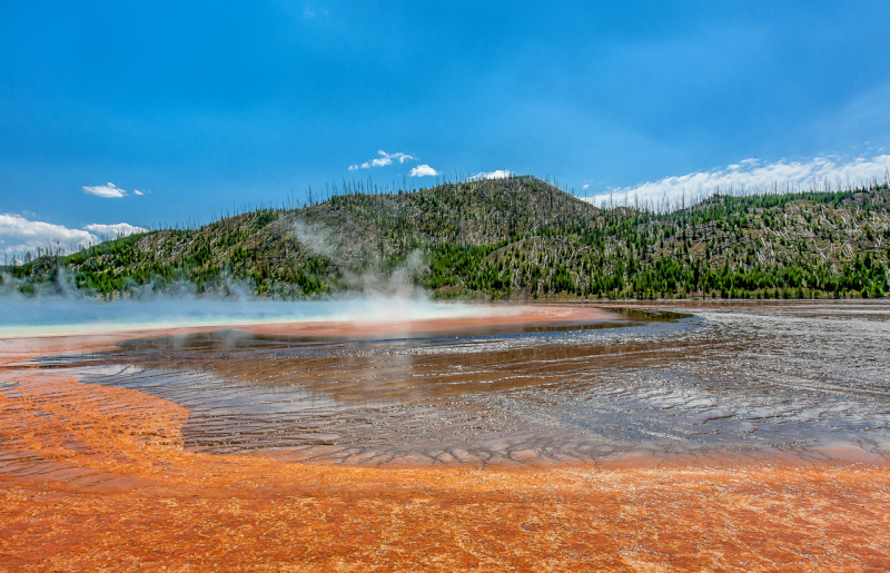 Geysers of Yellowstone National Park