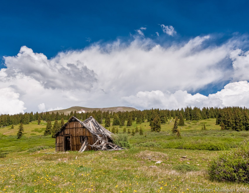 gold mine ghost town Colorado