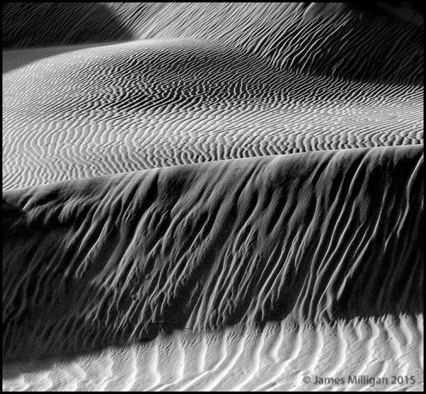 complex structure of dunes