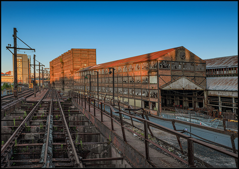 former site of Bethlehem Steel Co now abandoned