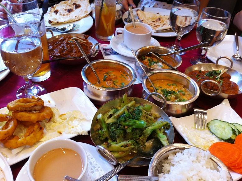 Indian food in E.TST