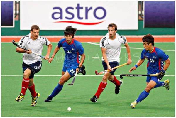 Hockey england vs south korea