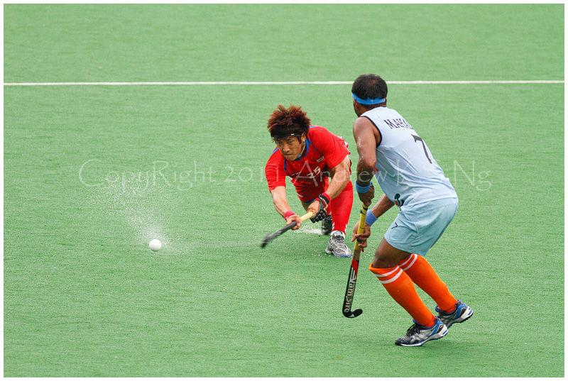 Hockey South Korea India
