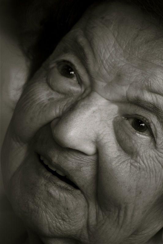 Ma grand-mère a 100 ans