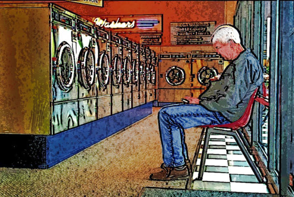 Waiting@Laundromat