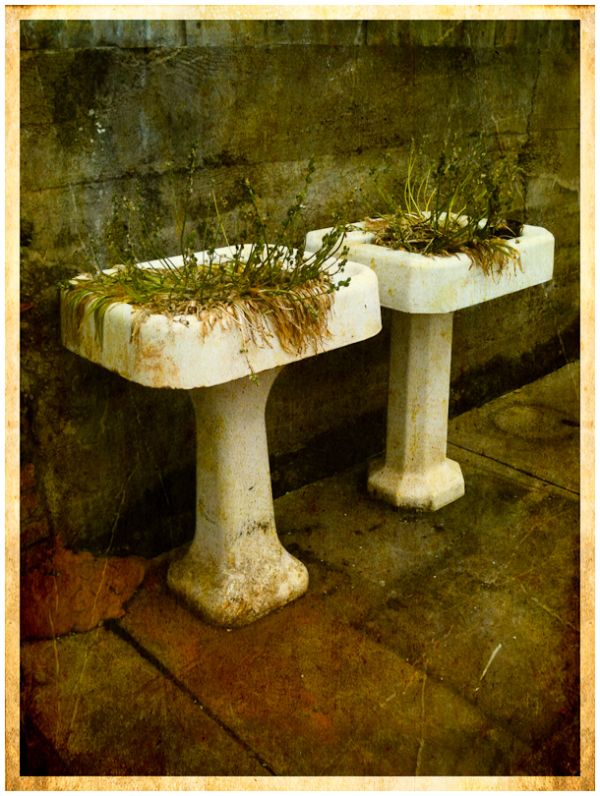 Pedestal Planters