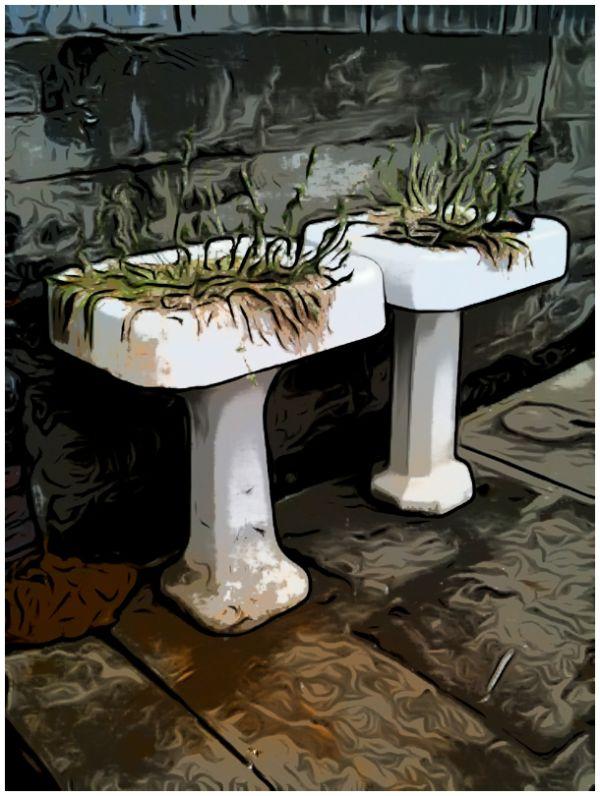 Pedestal Planters #2