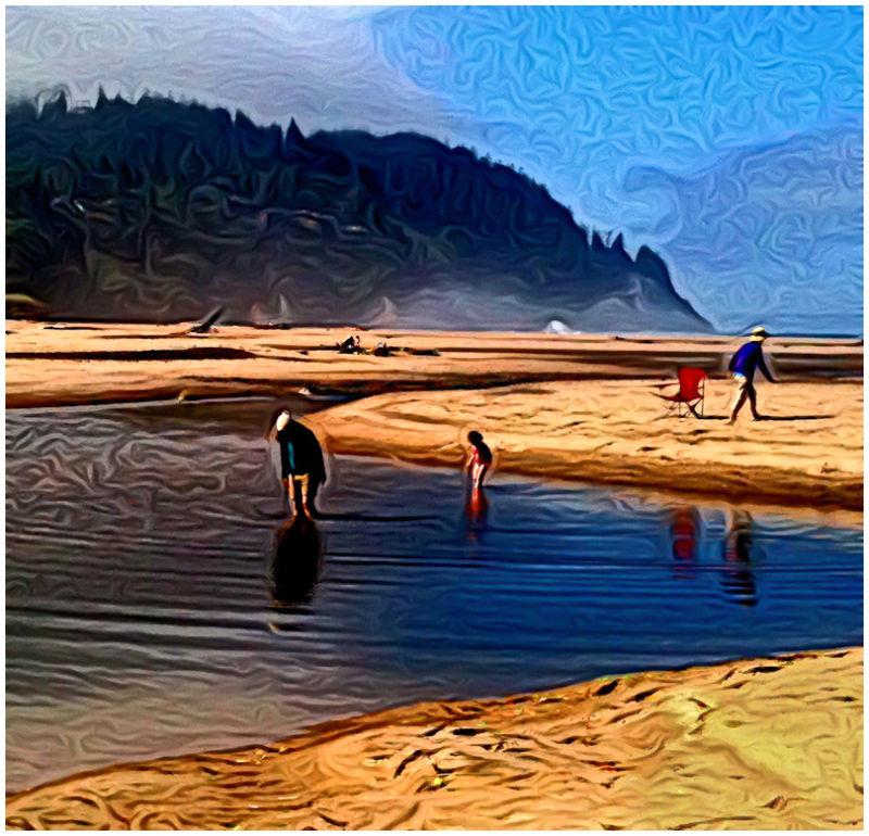 Low Tide (Neskowin, Oregon)