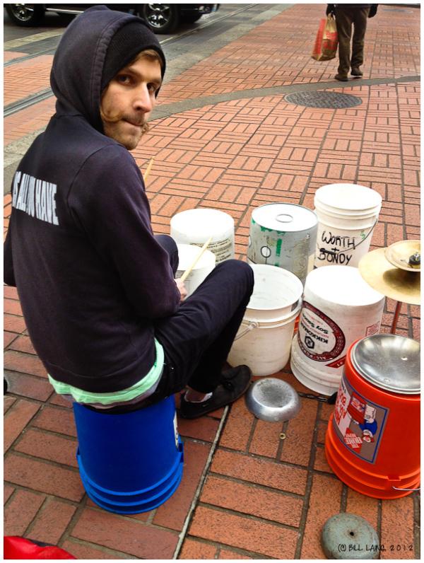 Street Drummer #3