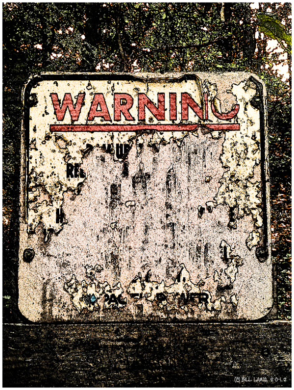 """WARNING""--fill in the blank"