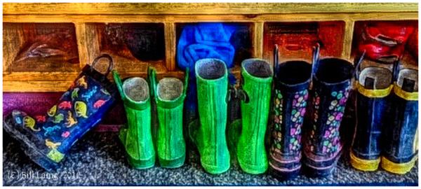 Montessori's Boots