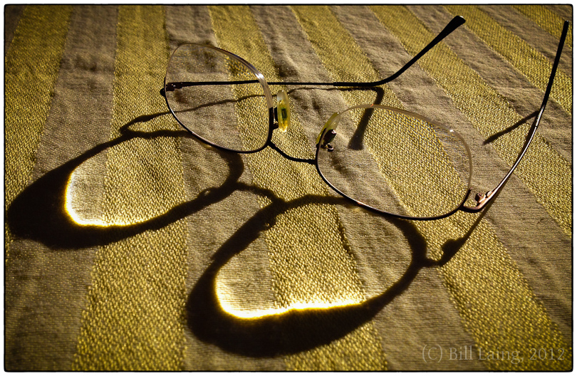 Glasses ~ Sun ~ Shadows